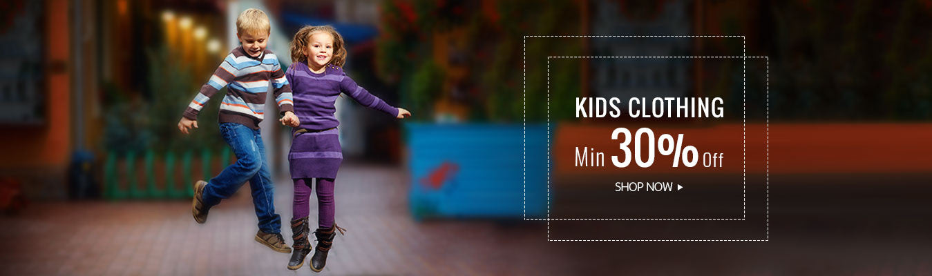 Kids Clothing min 30% off