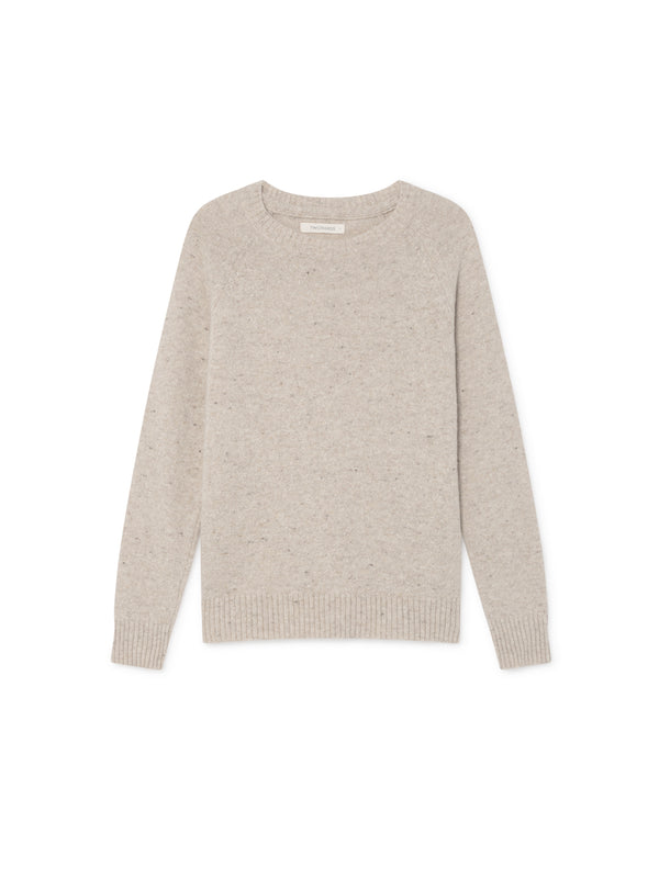 TWOTHIRDS Womens Knit: Agpat - Beige front