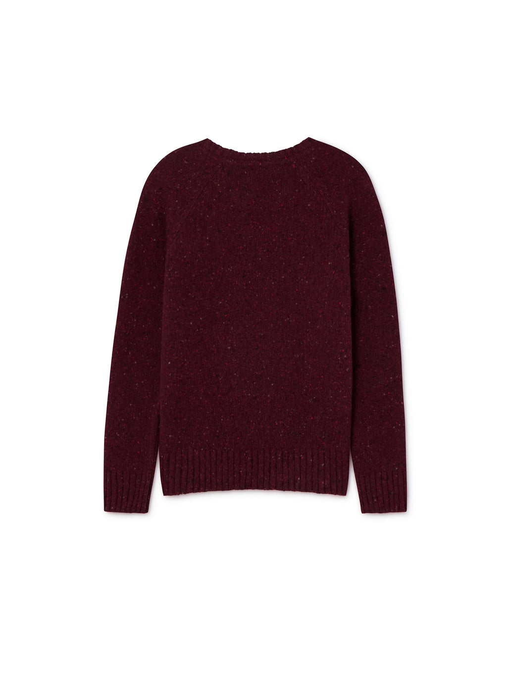 TWOTHIRDS Womens Knit: Agpat - Burgundy back