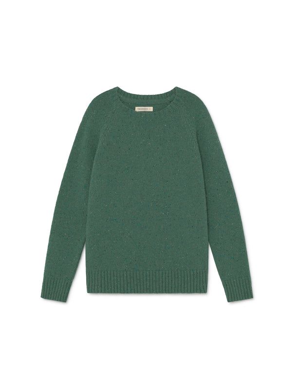 TWOTHIRDS Womens Knit: Agpat - Dusty Green front