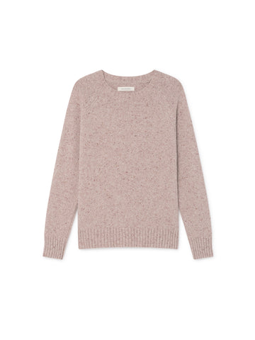 TWOTHIRDS Womens Knit: Agpat - Dusty Pink front
