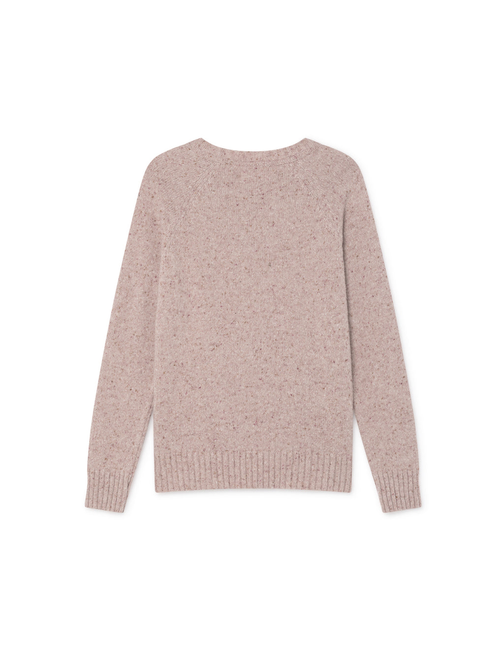 TWOTHIRDS Womens Knit: Agpat - Dusty Pink back