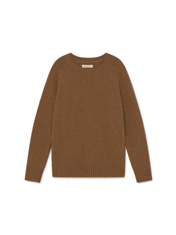 TWOTHIRDS Womens Knit: Agpat - Pecan front