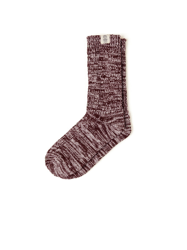 Alofi Socks Man - Burgundy