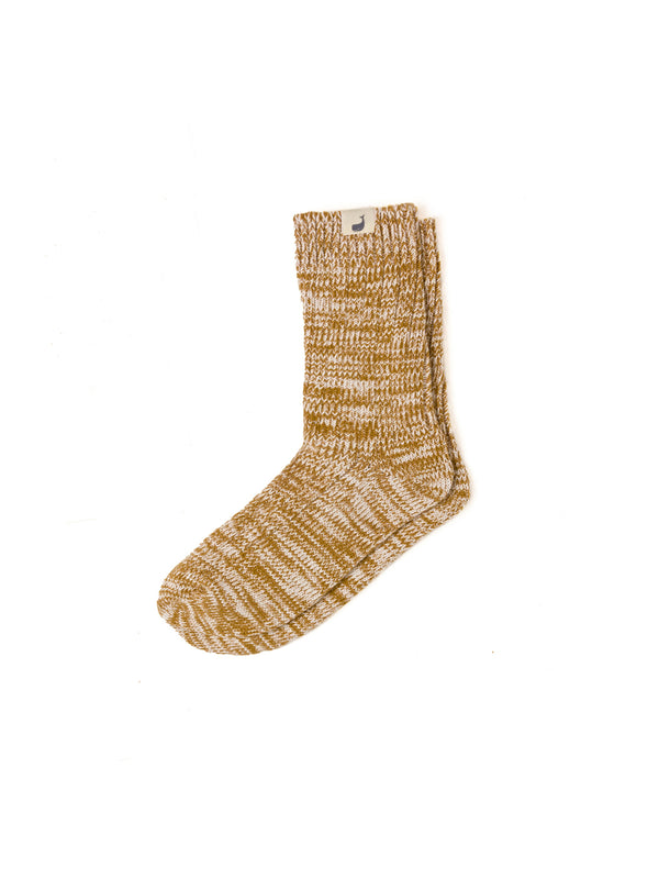 Alofi Socks Woman - Mustard
