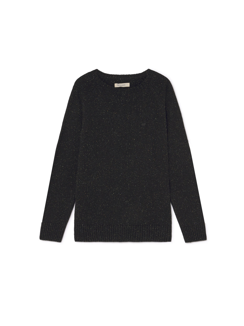 TWOTHIRDS Mens Knit: Anaa - Black front