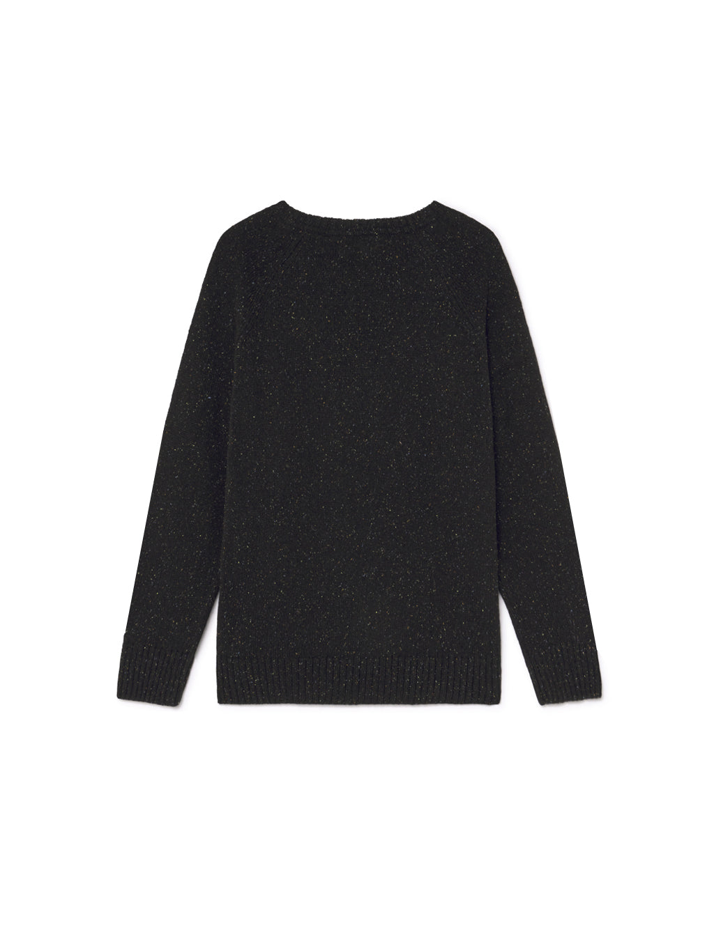 TWOTHIRDS Mens Knit: Anaa - Black back