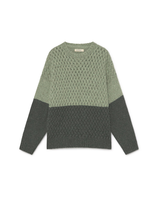 TWOTHIRDS Womens Knit: Apataki - Green front