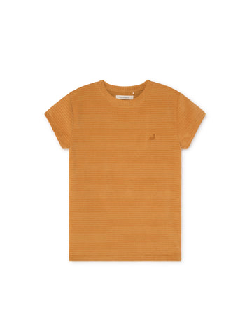 TWOTHIRDS Womens Top: Ariadna - Mustard front