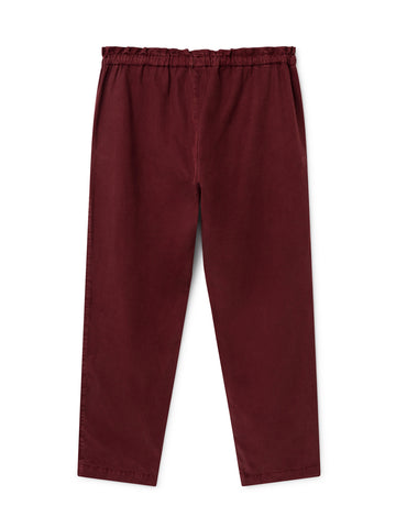 TWOTHIRDS Womens Pants: Barra - Burgundy back