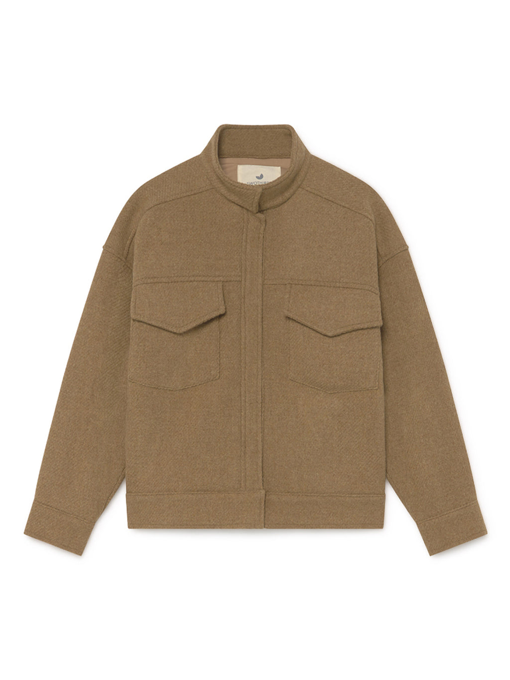 TWOTHIRDS Womens Jacket: Batan - Camel front