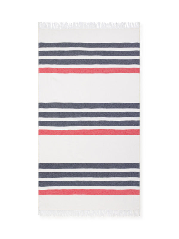 Beach Blanket - Mixed Stripes