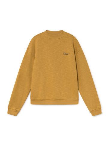 TWOTHIRDS Womens Sweat: Boeiro - Ochre front