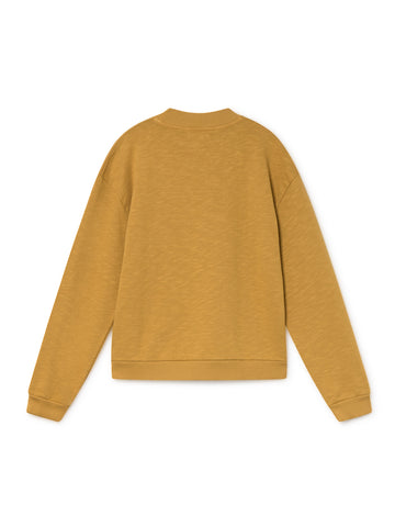 TWOTHIRDS Womens Sweat: Boeiro - Ochre back
