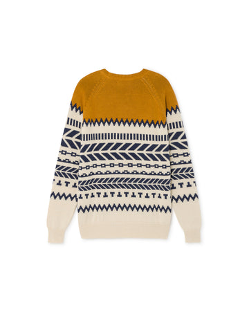 TWOTHIRDS Womens Knit: Bressay - Terracotta back