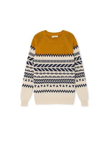 TWOTHIRDS Womens Knit: Bressay - Terracotta front