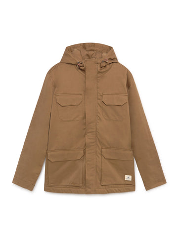 TWOTHIRDS Mens Jacket: Cameron - Pecan front