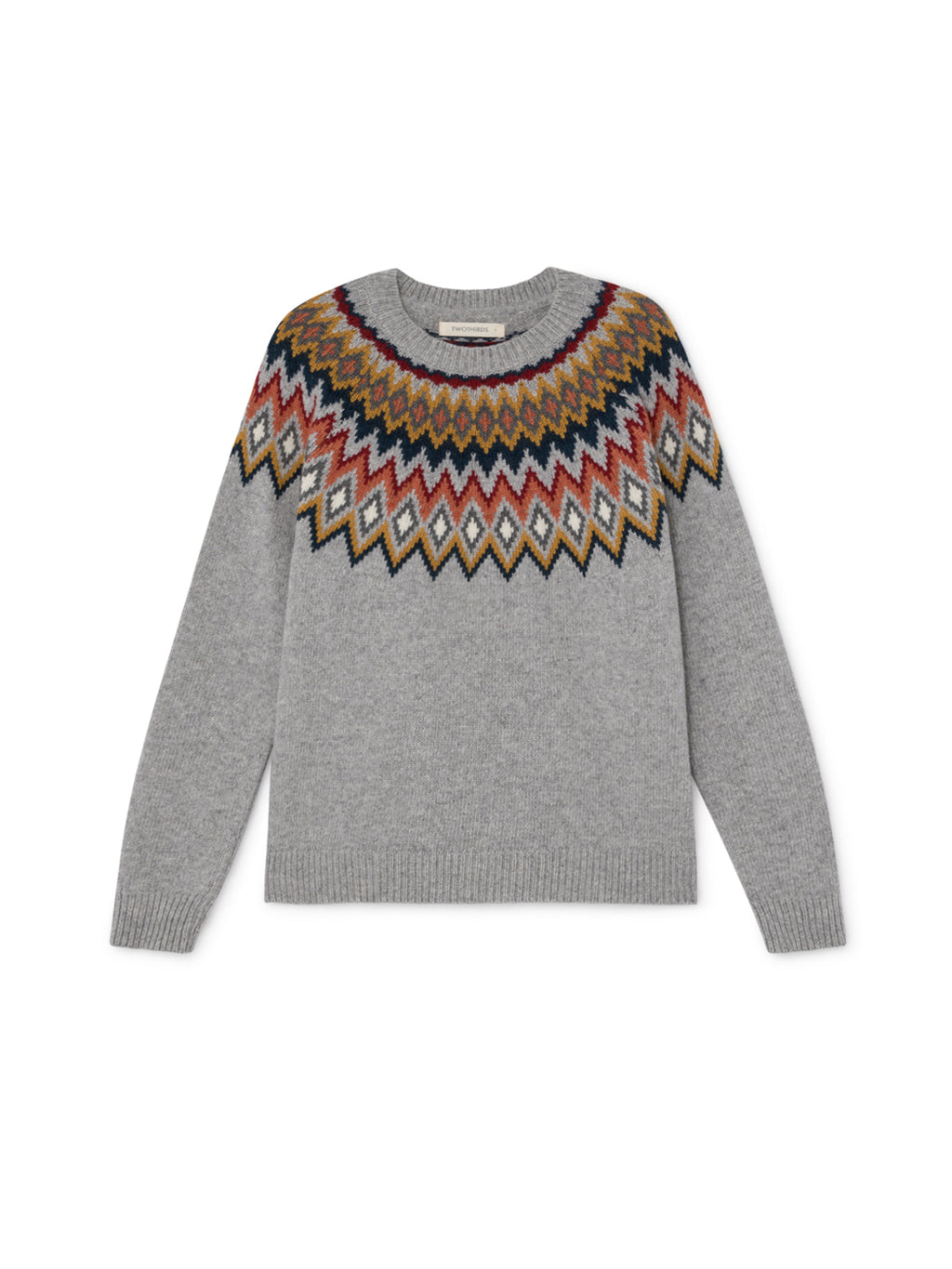 TWOTHIRDS Womens Knit: Centoleiras - Grey front
