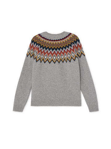 TWOTHIRDS Womens Knit: Centoleiras - Grey back