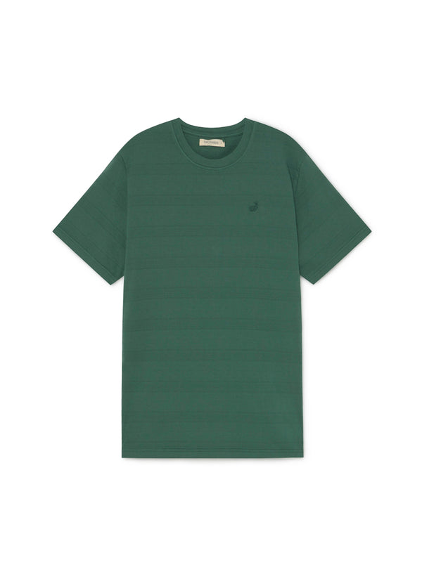TWOTHIRDS Mens Tee: Clemente - Dark Green front