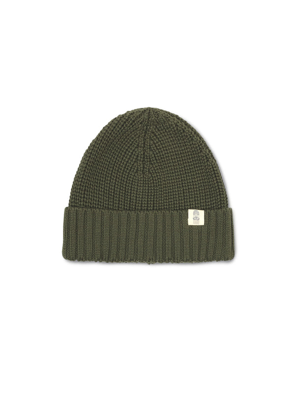 Cotton Beanie Man - Khaki