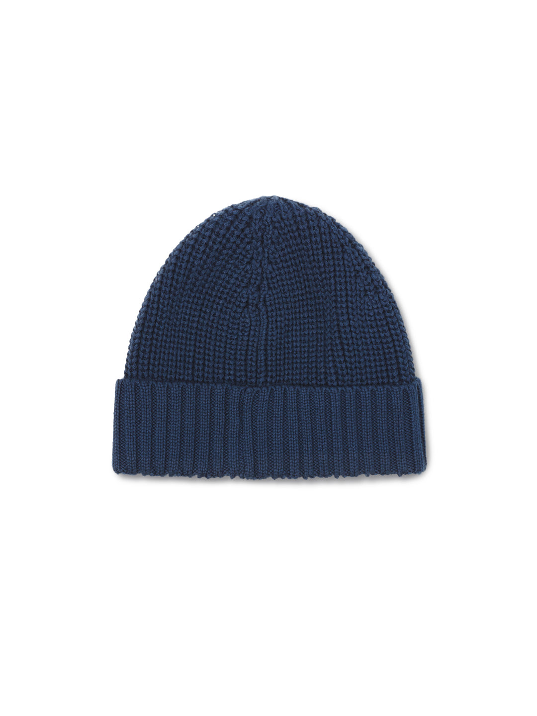 Cotton Beanie Man - Navy