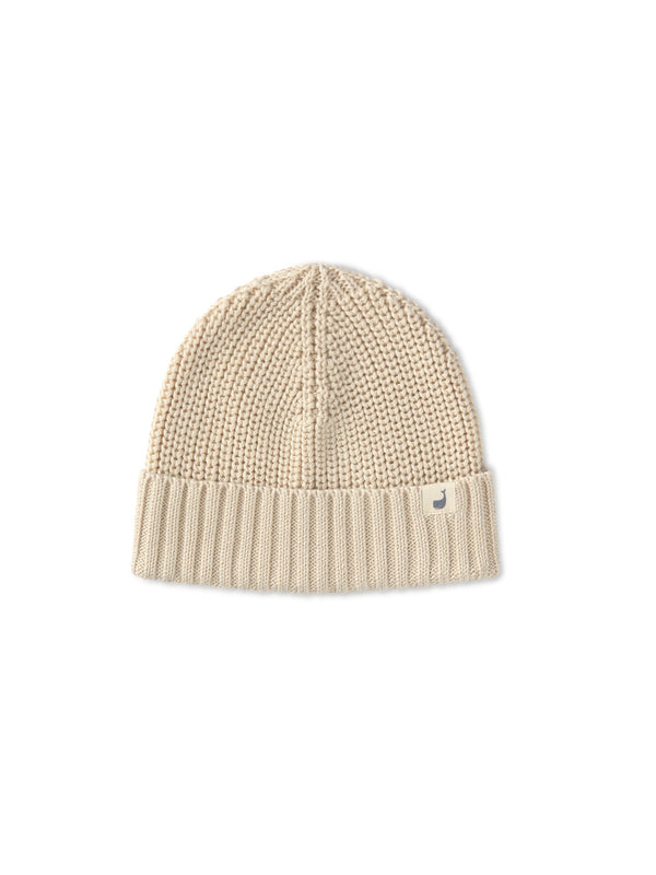 Cotton Beanie Woman - Ecrue