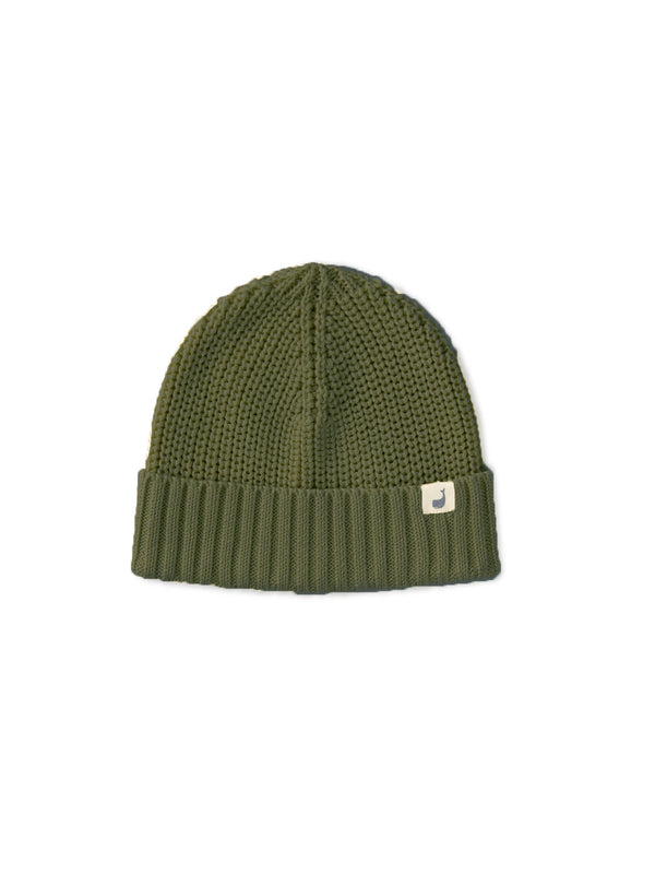Cotton Beanie Woman - Khaki