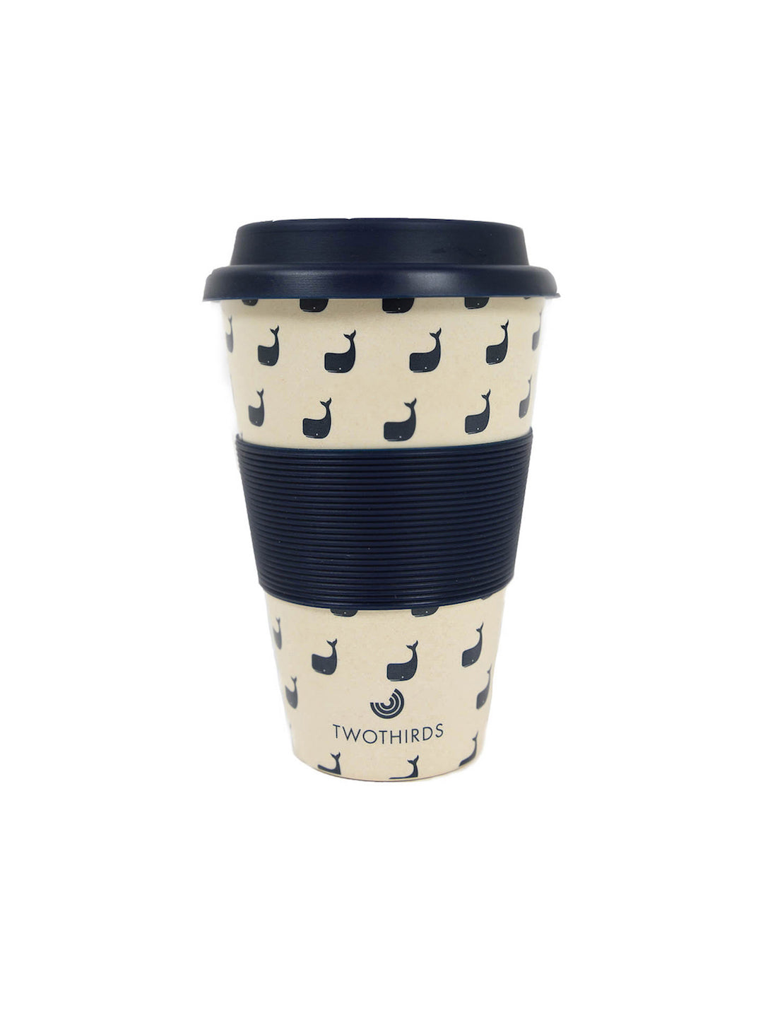 coffee cup whale allover twothirds