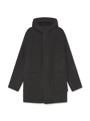 TWOTHIRDS Mens Jacket: Do Faro - Dark Grey front