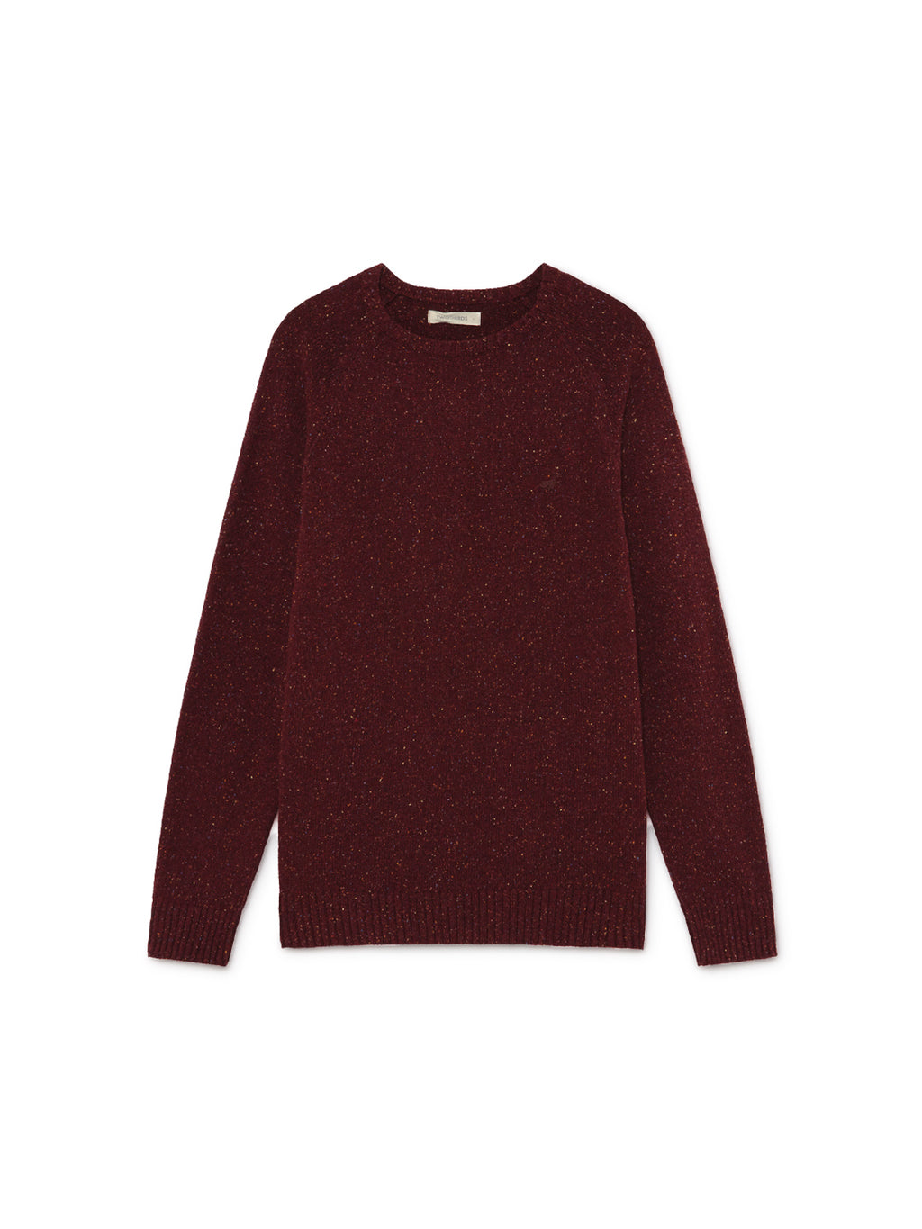 TWOTHIRDS Mens Knit: Dring - Burgundy front