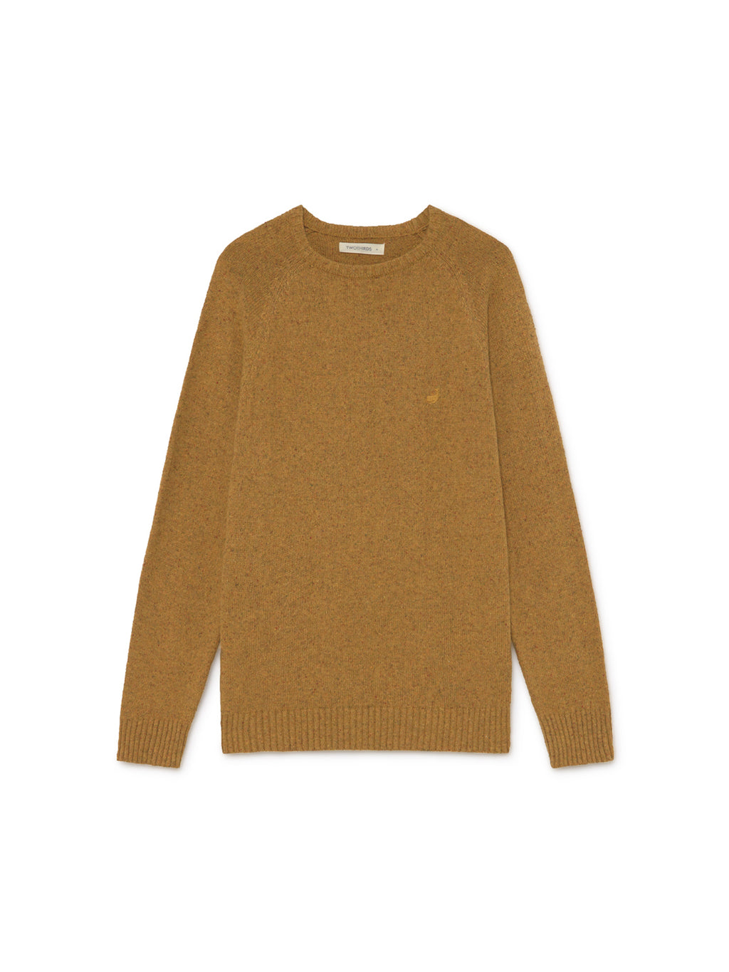 TWOTHIRDS Mens Knit: Dring - Mustard front