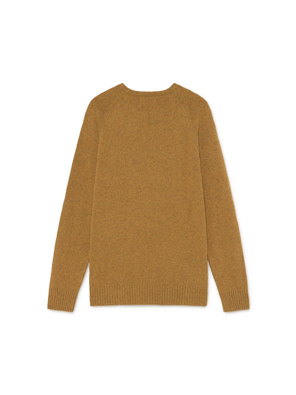 TWOTHIRDS Mens Knit: Dring - Mustard back