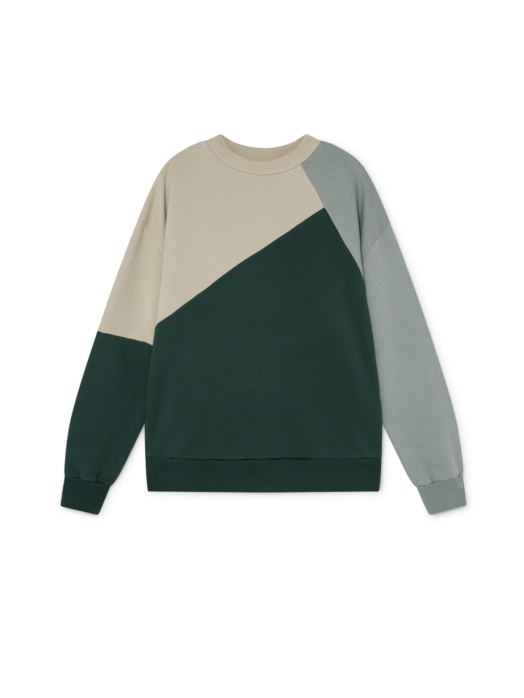 TWOTHIRDS Womens Sweat: Fair - Green front