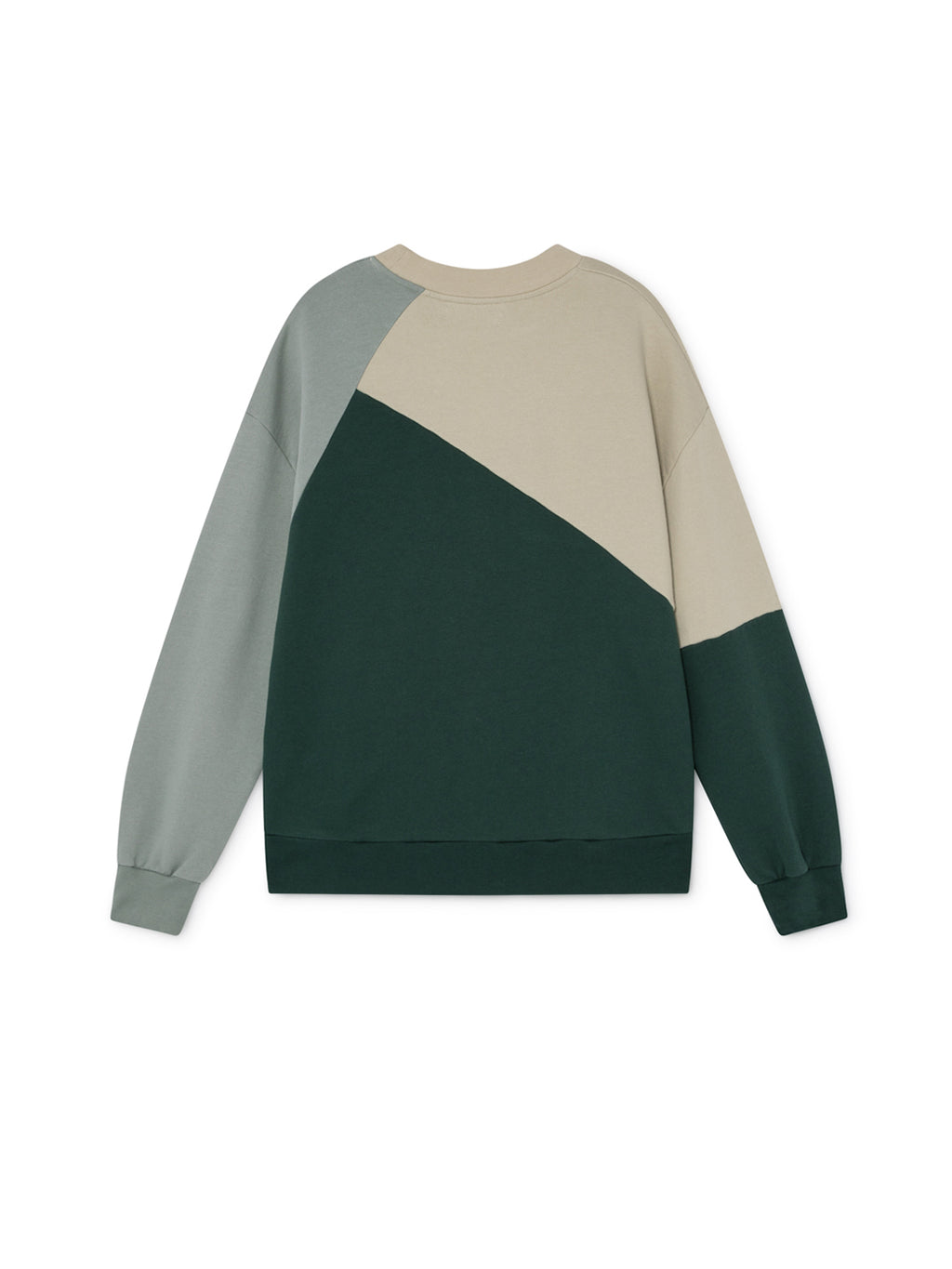 TWOTHIRDS Womens Sweat: Fair - Green back