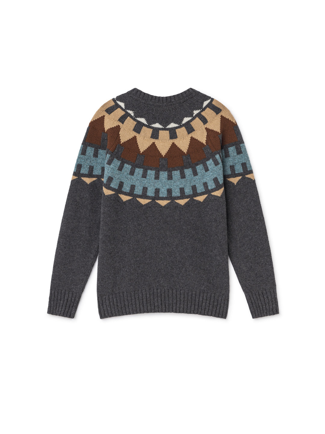 TWOTHIRDS Womens Knit: Foula - Grey back