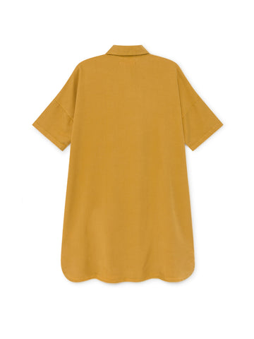 TWOTHIRDS Womens Dress: Fourni - Mustard back