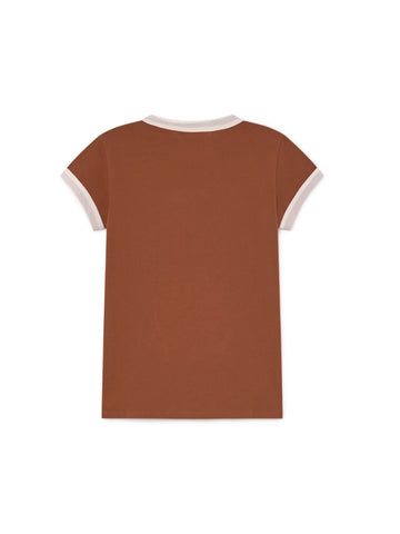 TWOTHIRDS Womens Tee: Garrido - Roof back