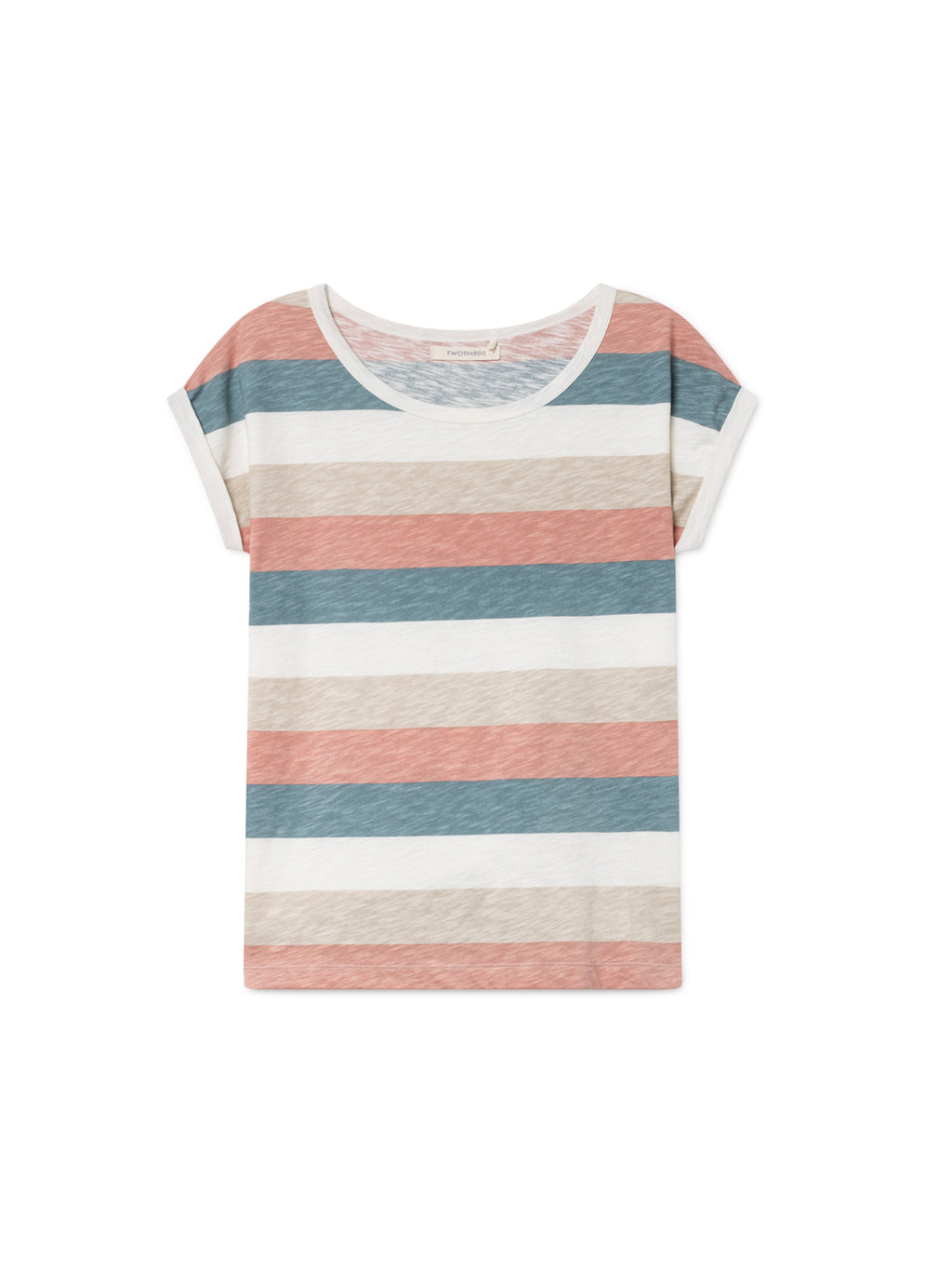 TWOTHIRDS Womens Tee: Gortina - Light front