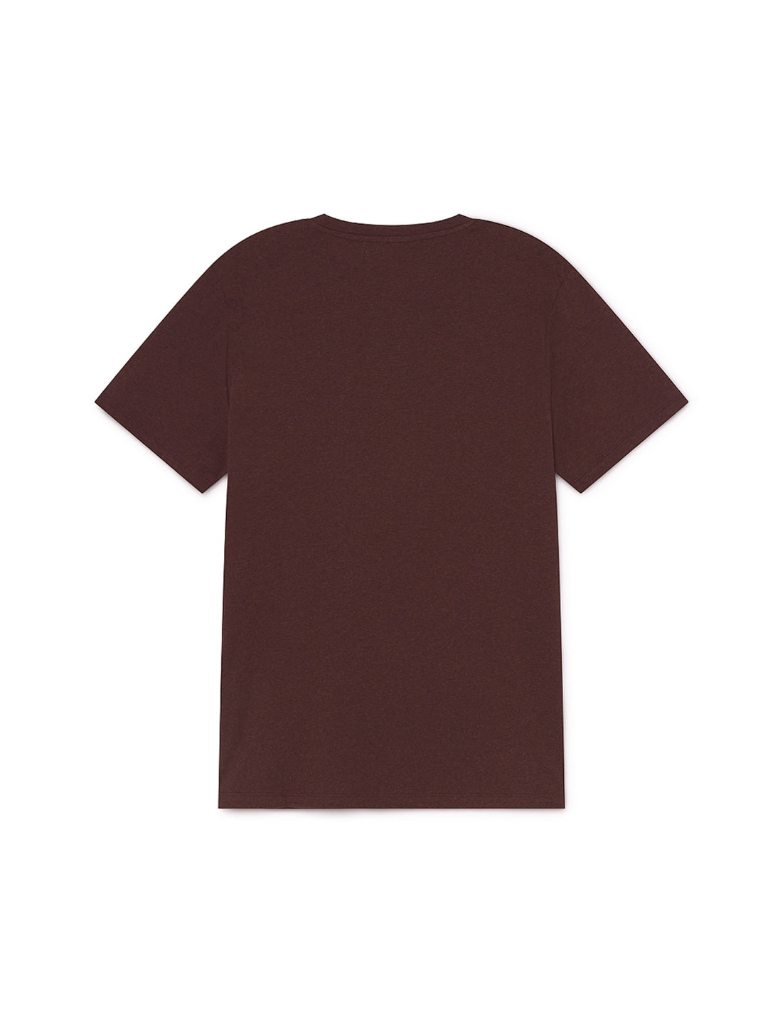TWOTHIRDS Mens Tee: Graham - Burgundy back