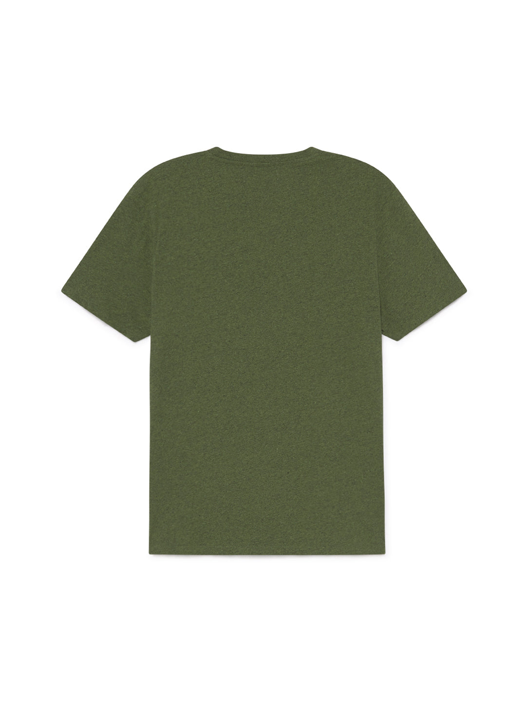 TWOTHIRDS Mens Tee: Graham - Dark Green back