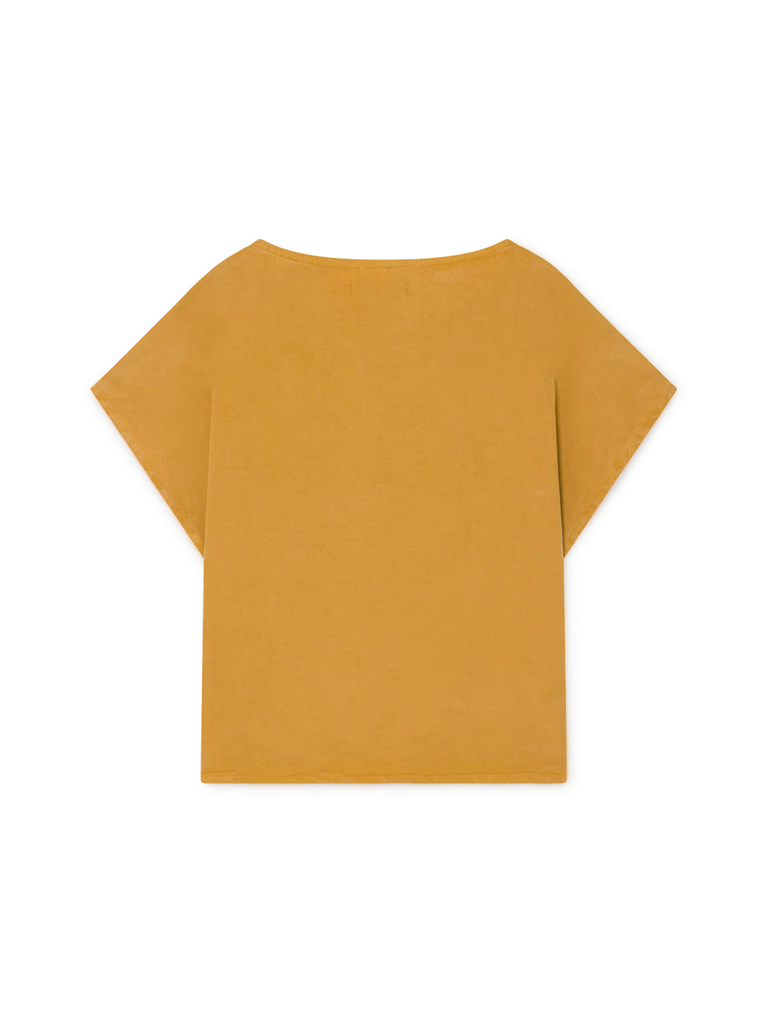 TWOTHIRDS Womens Top: Guafo - Mustard back
