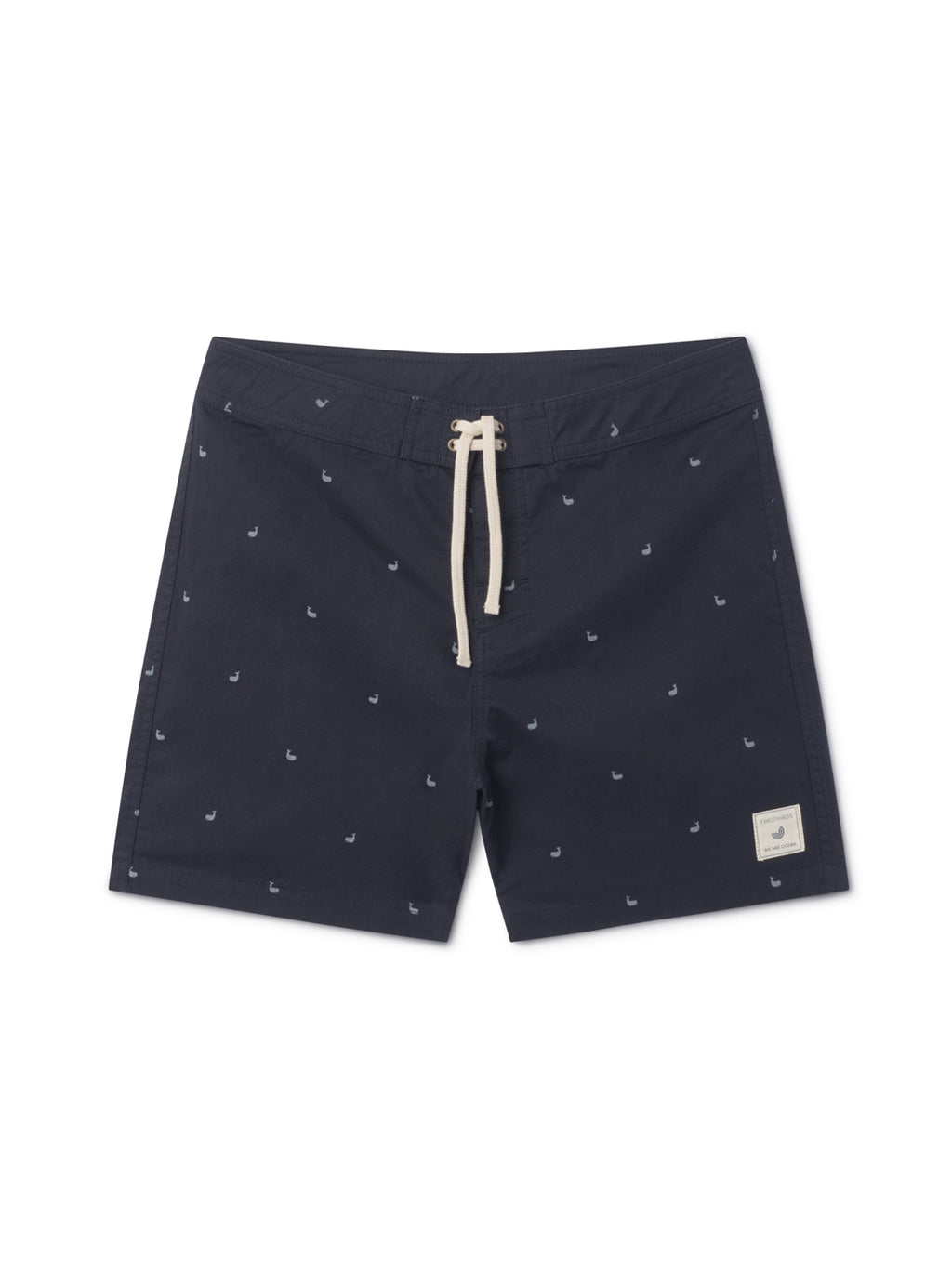 TWOTHIRDS Mens Boardshorts: Hainan Allover - Navy front