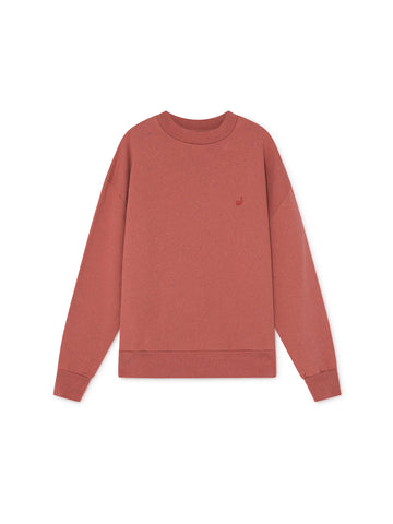 TWOTHIRDS Womens Sweat: Harris - Cedar Wood front