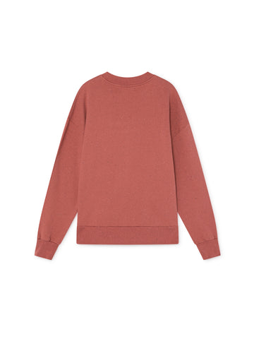 TWOTHIRDS Womens Sweat: Harris - Cedar Wood back