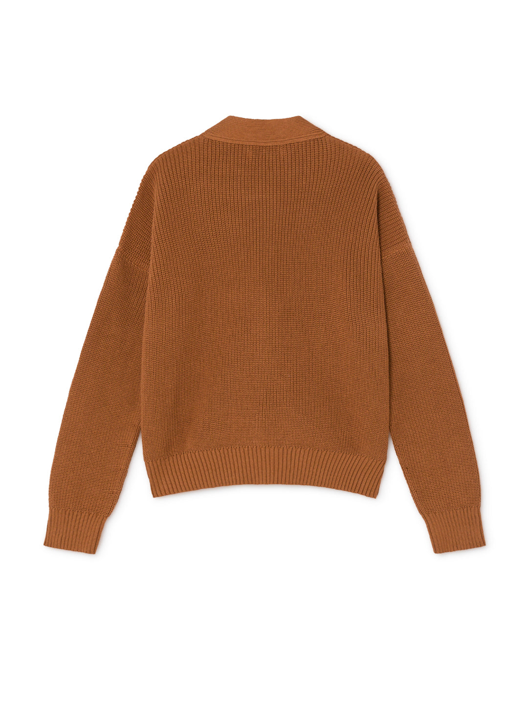 TWOTHIRDS Womens Knit: Huapi - Cinnamon back