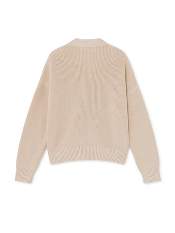 TWOTHIRDS Womens Knit: Huapi - Ecrue back