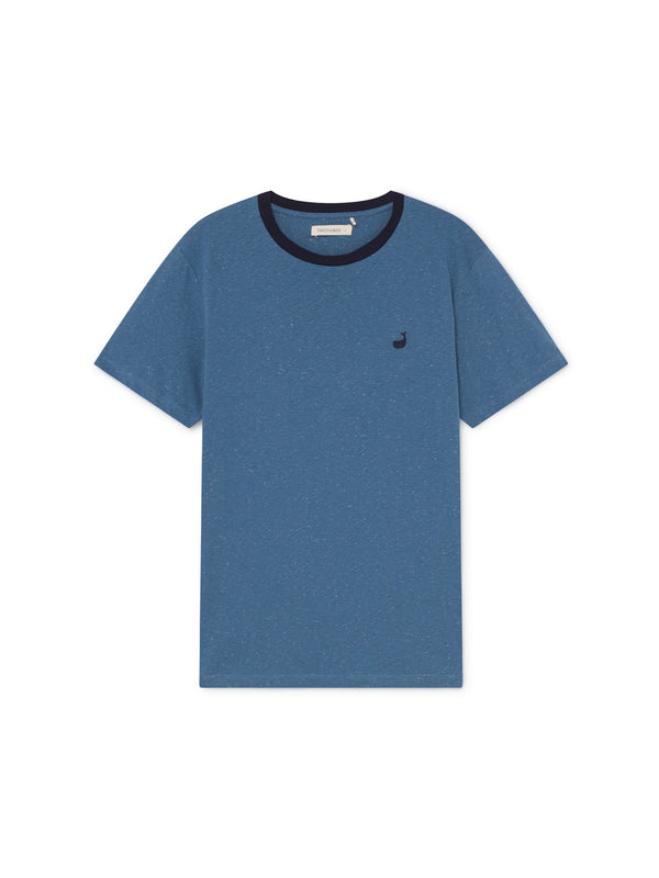 TWOTHIRDS Mens Tee: Ipun - Blue front