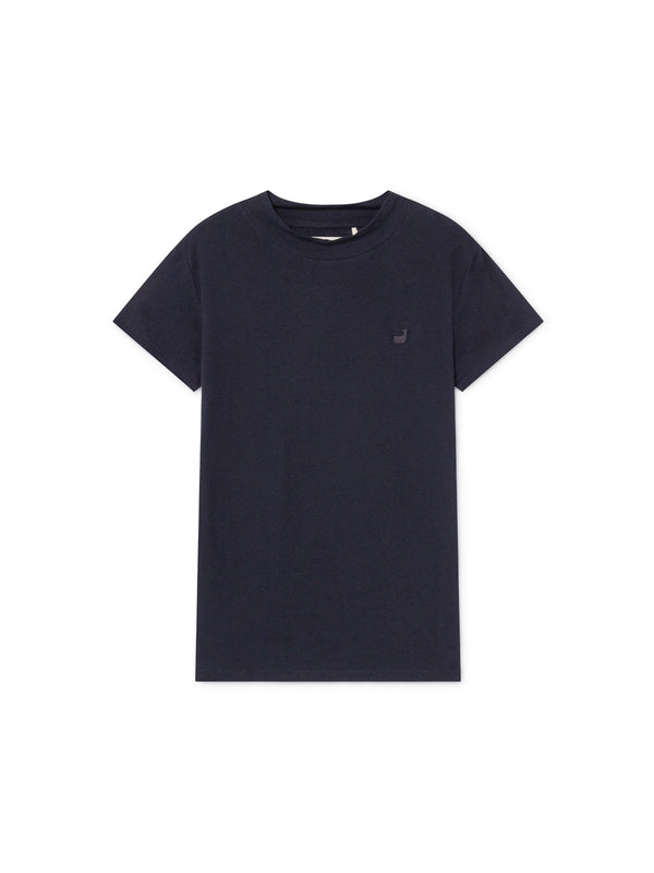 TWOTHIRDS Womens Tee: Irabu - Navy front