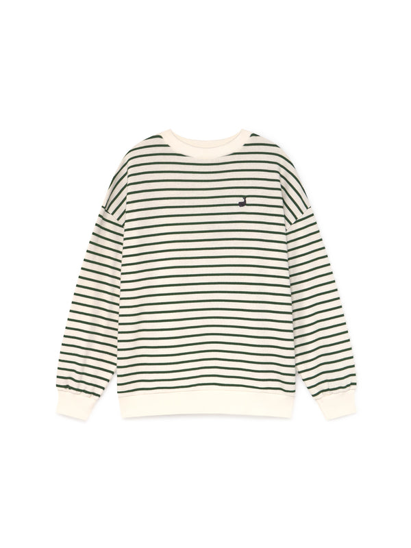 TWOTHIRDS Womens Sweat: Japon - Green front